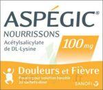 ASPEGIC NOURRISSONS 100 mg, poudre pour solution buvable en sachet-dose à Pessac