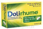 DOLIRHUME PARACETAMOL ET PSEUDOEPHEDRINE 500 mg/30 mg, comprimé à Pessac