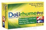 DOLIRHUMEPRO PARACETAMOL, PSEUDOEPHEDRINE ET DOXYLAMINE, comprimé à Pessac