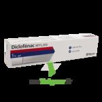 DICLOFENAC MYLAN 1%, gel à Pessac