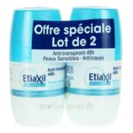 ETIAXIL DEO 48H ROLL-ON LOT 2 à Pessac