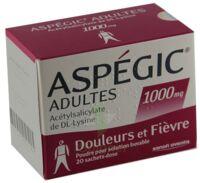 ASPEGIC ADULTES 1000 mg, poudre pour solution buvable en sachet-dose 15 à Pessac