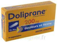 DOLIPRANE 200 mg Suppositoires 2Plq/5 (10) à Pessac