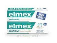 ELMEX SENSITIVE DENTIFRICE, tube 75 ml, pack 2 à Pessac