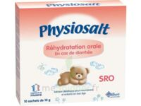 PHYSIOSALT REHYDRATATION ORALE SRO, bt 10 à Pessac