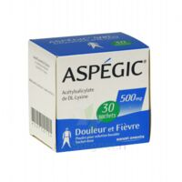 ASPEGIC 500 mg, poudre pour solution buvable en sachet-dose 30 à Pessac