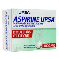 ASPIRINE UPSA TAMPONNEE EFFERVESCENTE 1000 mg, comprimé effervescent à Pessac