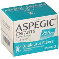 ASPEGIC ENFANTS 250, poudre pour solution buvable en sachet-dose à Pessac