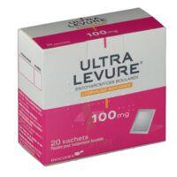 ULTRA-LEVURE 100 mg Poudre pour suspension buvable en sachet B/20 à Pessac